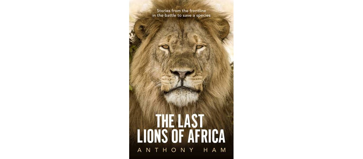 The Last Lions of Africa book cover