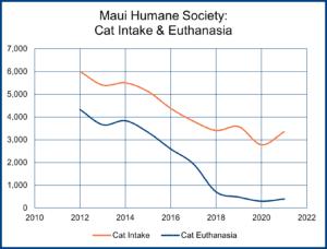 Maui Humane Society: Cat Intake & Euthanasia