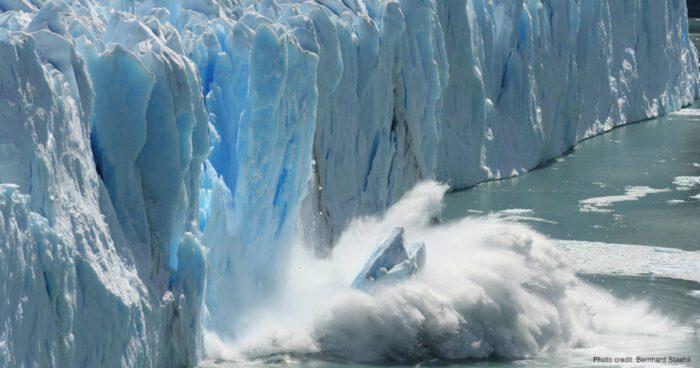 Antarctic Glacier   Photo credit: Bernhard Staehli